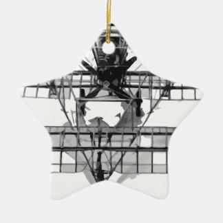 Ornement Étoile En Céramique FE_2b_two_seater_biplane_model_RAE-O908