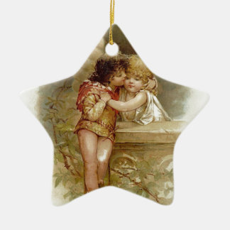 Ornement Étoile En Céramique Frances Brundage : Romeo et Juliet - art vintage