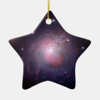 Ornement Étoile En Céramique Galaxie d'Active de Caldwell 24
