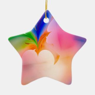 Ornement Étoile En Céramique Grande boîte-cadeau d'arc