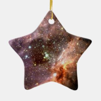 Ornement Étoile En Céramique Groupe d'étoile M17 stellaire ESO0416