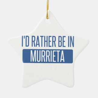 Ornement Étoile En Céramique Je serais plutôt dans Murrieta
