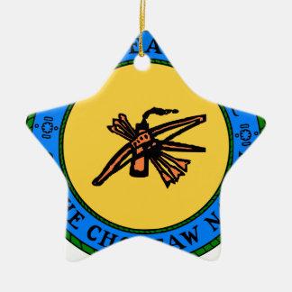 Ornement Étoile En Céramique Joint de Choctaw