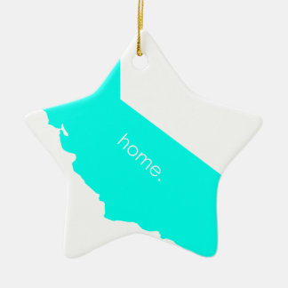 Ornement Étoile En Céramique La Californie