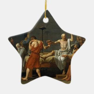 Ornement Étoile En Céramique La mort de Socrates
