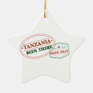 Ornement Étoile En Céramique La Tanzanie là fait cela