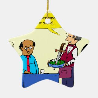 Ornement Étoile En Céramique Le Brutus de 904 chefs a fait la bande dessinée de