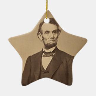 Ornement Étoile En Céramique Lincoln