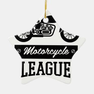 Ornement Étoile En Céramique Logos de collections de moto