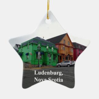 Ornement Étoile En Céramique Ludenburg la Nouvelle-Écosse