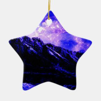 Ornement Étoile En Céramique Matanuska vernal