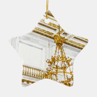 Ornement Étoile En Céramique Musée d'ermitage d'état St Petersburg Russie