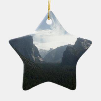Ornement Étoile En Céramique Parc national de Yosemite