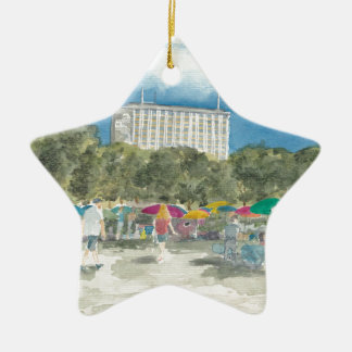 Ornement Étoile En Céramique Parc thaïlandais Berlin