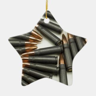 Ornement Étoile En Céramique point creux des munitions 7.62x39mm de munitions