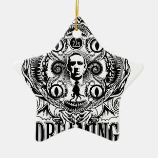 Ornement Étoile En Céramique Rêves de Lovecraftian