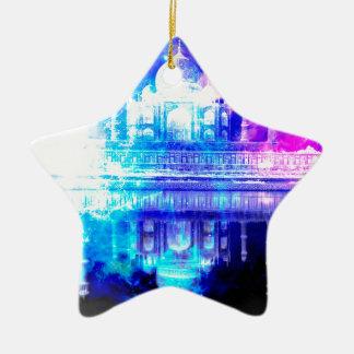 Ornement Étoile En Céramique Rêves du Taj Mahal du ciel de la création