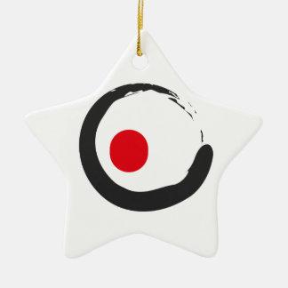 Ornement Étoile En Céramique Sushi Zen Minimalist Icon