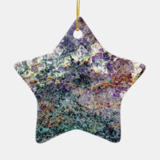 Ornement Étoile En Céramique texture en pierre 2.JPG d'améthyste