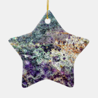 Ornement Étoile En Céramique texture en pierre 3.JPG d'améthyste