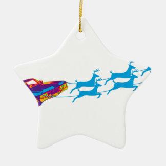 Ornement Étoile En Céramique Très Noël de Supernaturnal