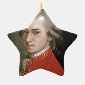 Ornement Étoile En Céramique Wolfgang Amadeus Mozart