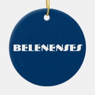 Ornement fait sur commande de cercle de Belenenses