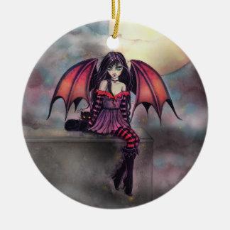 Ornement féerique de Halloween de petit vampire