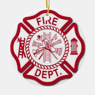 Ornement femelle de sapeur-pompier