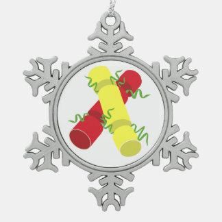 Ornement Flocon De Neige Biscuits de Noël