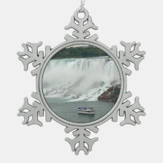 Ornement Flocon De Neige Chutes du Niagara du côté canadien