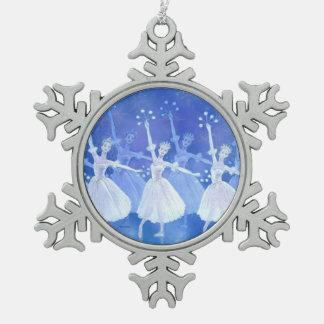 Ornement Flocon De Neige Danse de l'ornement de flocons de neige