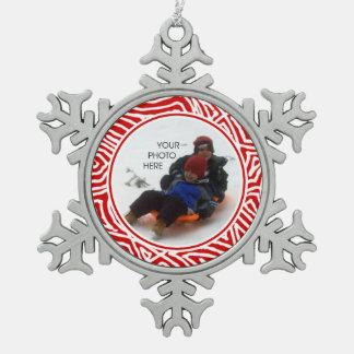 Ornement Flocon De Neige Flocon de neige de Scribbleprint