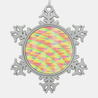 Ornement Flocon De Neige Interférence lumineuse par Kenneth Yoncich