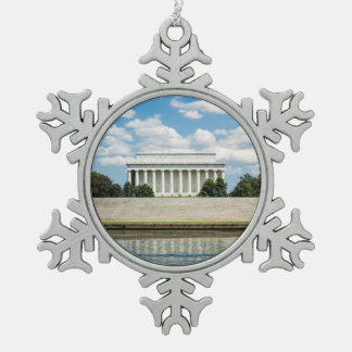 Ornement Flocon De Neige Le Lincoln Memorial