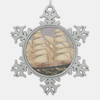 Ornement Flocon De Neige Mers SUPÉRIEURES de navigation