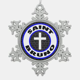 Ornement Flocon De Neige Saint Bruno