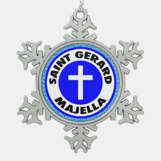 Ornement Flocon De Neige Saint Gerard Majella