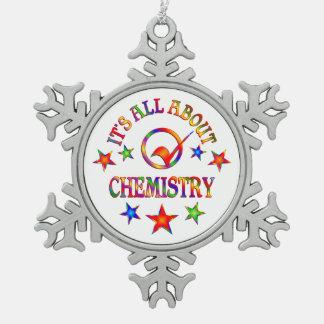 Ornement Flocon De Neige Tout au sujet de la chimie