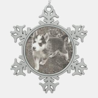 Ornement Flocon De Neige Votre animal familier dans un flocon de neige