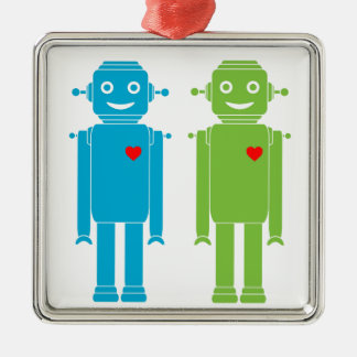 Ornement gai de vacances de robots de LGBT