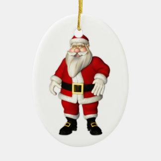 Ornement heureux de Père Noël