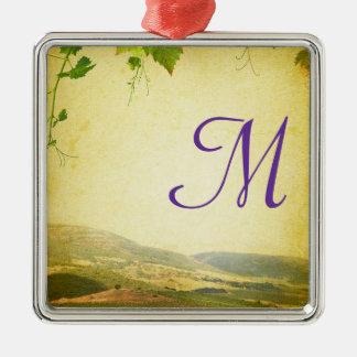 Ornement italien d'initiale de monogramme de