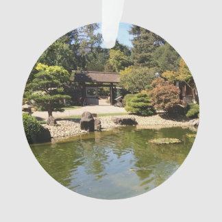 Ornement japonais de jardin de San Mateo