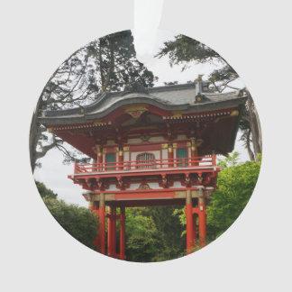 Ornement japonais de la porte #2 de temple de