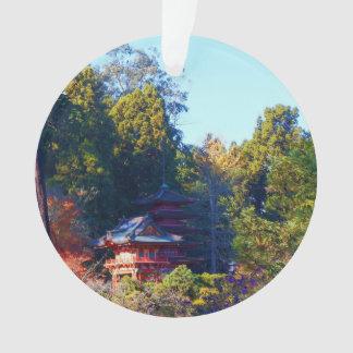 Ornement japonais du jardin de thé de San