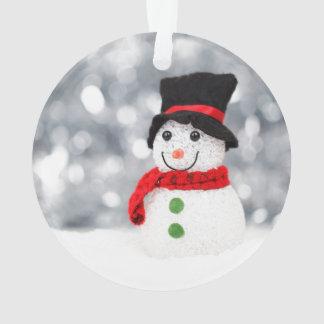 Ornement mignon de bonhomme de neige pour Noël