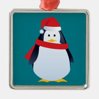 ornement mignon de Noël de pingouin