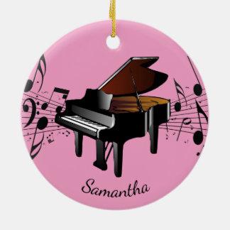 Ornement musical de conception de piano de piano