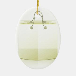 Ornement Ovale En Céramique 82Paper Bag_rasterized de achat